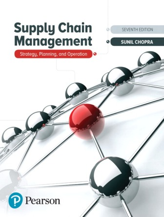 Solution Manual for Supply Chain Management 7th Edition Chopra