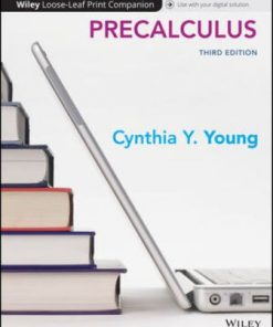 Test Bank for Precalculus 3rd Edition Young