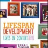 Test Bank for Lifespan Development Lives in Context 2nd Edition Kuther